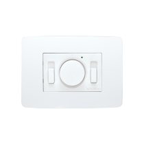 Comando a Incasso Bianco per Ventilatori con Interruttore Luce Vortice SC 503 B