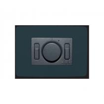 Comando a Incasso Nero per Ventilatori con Interruttore Luce Vortice SC 503 N