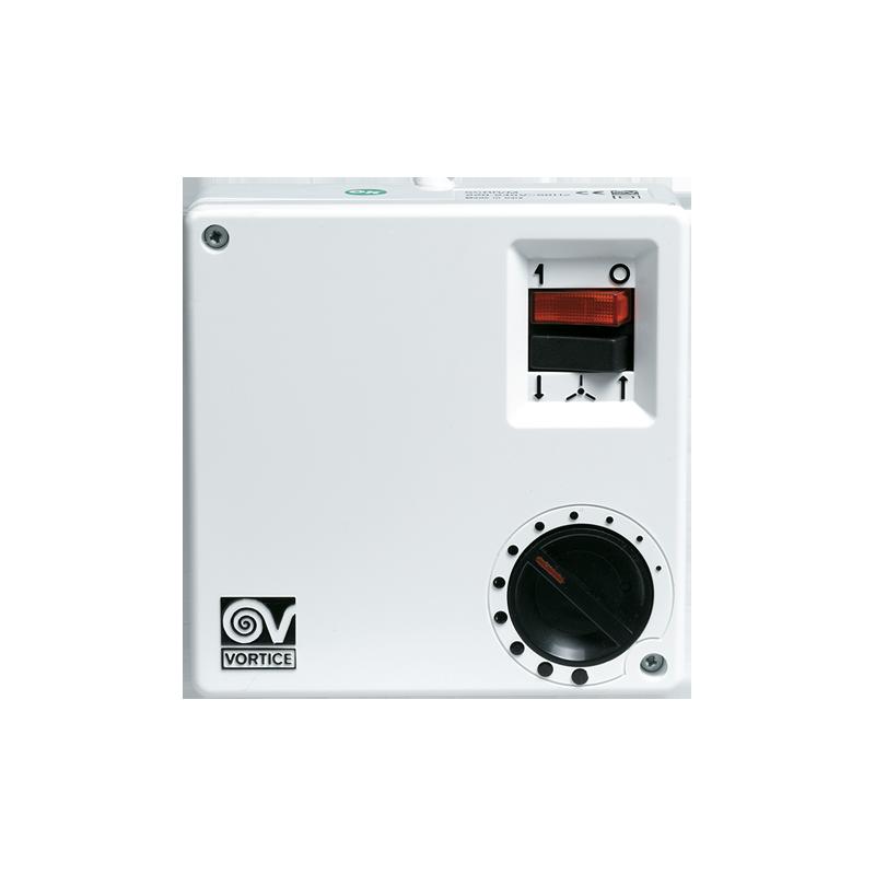 Regolatore di Velocità per Ventilatore a soffitto con Selettore On/Off Vortice SCRR5