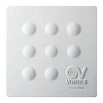 """Aspiratore diametro 120 elicoidale con timer da muro PUNTO FILO MFO 120/5"""" T Vortice 11148"""