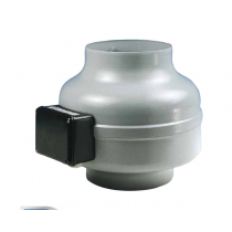 Aspiratore centrifugo in linea da condotto AXC 100B Elicent 2AX1123