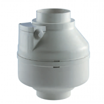 Aspiratore centrifugo in linea da condotto ELICAPPA 100 TP Elicent 2EK2020