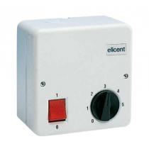 Regolatore di velocità monofase 5 velocità Elicent 2RV4042