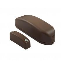 Contatto Magnetico con Collegamento radio per Porte e Finestre Marrone Lince 9508