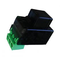 Inseritore contactless da incasso nero programmabile MASTER/SLAVE Lince 4131