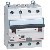 Interruttore Salvavita Magnetotermico Differenziale 4P 10A 400V Bticino GN8843AC10
