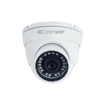 Telecamera per Esterno con Zoom Motorizzato Minidome AHD ad infrarossi 3Mp con ottica da 2,8mm a 12mm IP66 Comelit AHCAM639ZB