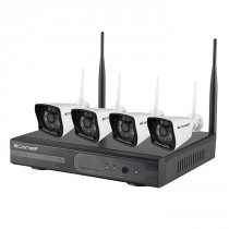 Kit 4 Telecamere IP WiFi HD con NVR IP WiFi Comelit WIKIT080A