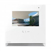 Monitor a Colori per Videocitofono da Interno Icona Bianco S2  Comelit 6601W