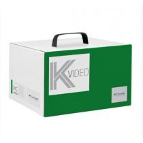 Building Kit di base impianto a 2 fili audio/video Comelit 9000