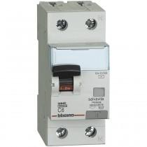 Interruttore Magnetotermico Differenziale 0,03A 6KA 1P+N 6A Bticino GN8813AC6