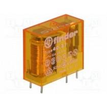 Mini relè per circuito stampato ed a innesto bobina 12V AC 1 contatto Finder 40318012