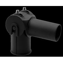Adattatore Testa Palo 60/60mm Snodato per fari a Led Century EkoDeo ATP 6060