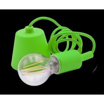 Portalampada a Sospensione Verde con Attacco Lampada E27 Century Fantasy FTVE-150