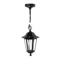 Lanterna da Giardino a Soffitto con catena IP33 E27 Antracite Poliplast 400438N