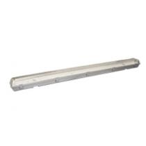 Plafoniera Stagna per 2 Tubi a Led da 120cm IP65 Poliplast 400755-36-2LED