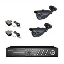 Offerta Kit video sorveglianza Comelit DVR Full HD con 2 Telecamere