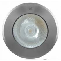Faretto ad incasso carrabile basso spessore 10 W 4000 K Luce naturale IP67 Olar Slim 10 Playled ALS1030N