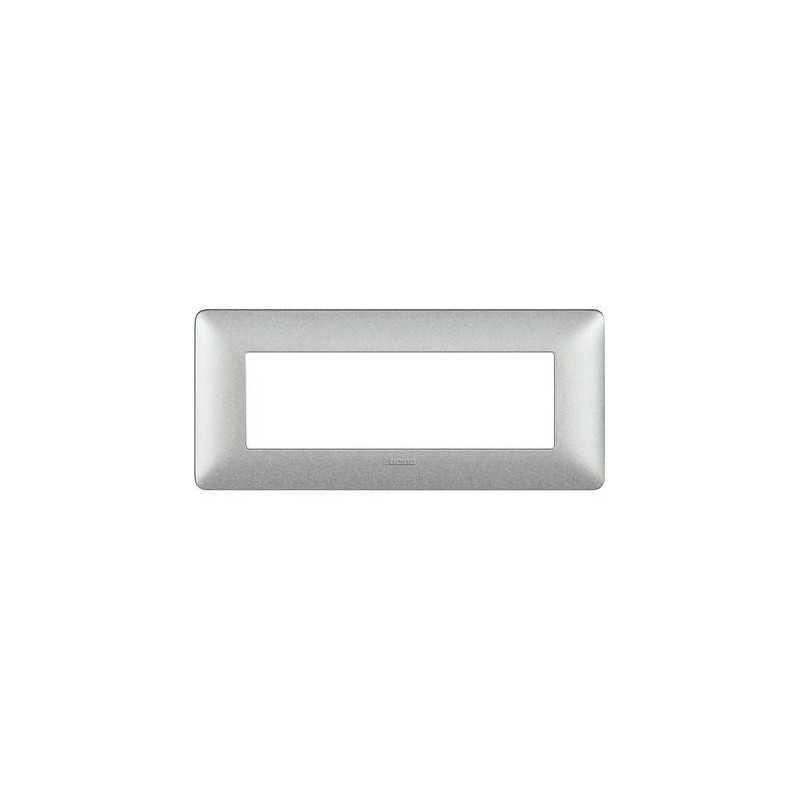 Placca Bticino Matix 6 moduli Bianco Calce AM4806TBC