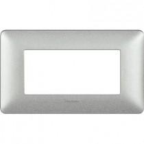 Placca Bticino Matix 4 Moduli Bianco Calce AM4804TBC