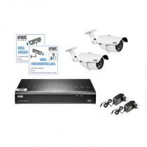 Kit 2 telecamere con HVR AHD 8 canali compedo di Hard Disk Urmet 1097801