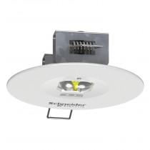 Lampada d'emergenza da Incasso a Led Exiway Smartbeam Schneider OVA48902