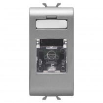Presa Telefonica Rj11 Toolless Titanio GW14401