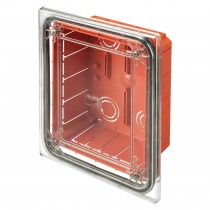 Cassetta di Derivazione da Incasso Stagna con Coperchio Trasparente IP55 138X169X70mm GW48691
