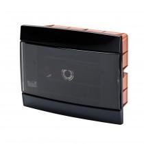 Centralino da Arredo Grigio Fumo ad Incasso 8 Moduli 250X195X26mm GW40226
