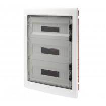 Centralino Protetto da Incasso 54 Moduli IP40 con Porta Fumé GW40610