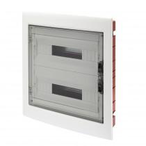 Centralino Protetto da Incasso 36 Moduli IP40 con Porta Fumé GW40609