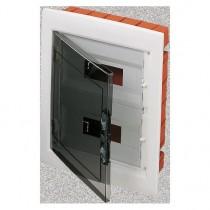 Centralino Protetto da Incasso 24 Moduli IP40 con Porta Fume' GW40606