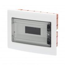 Centralino Protetto da Incasso 12 Moduli IP40 con Porta Fumé GW40605