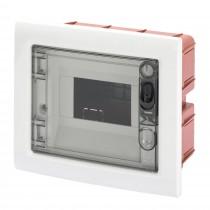 Centralino Protetto da Incasso 6 Moduli IP40 con Porta Fumé GW40603