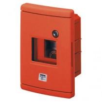 Centralino di Emergenza Stagno da Incasso Rosso 4 Moduli GW42231