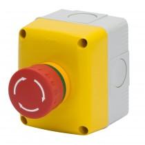 Pulsante di Emergenza con Riarmo a Rotazione IP66 GW27202