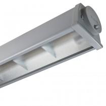 Plafoniera LED ad Uso Industriale 2x36W IP65 Luce Naturale 4000°Beghelli A236ED