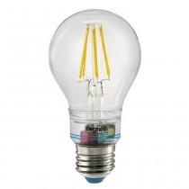 Lampada a Led Anti Black Out 6W Attacco E27 Luce Calda 2700° 60x114mm Sorpresa Zafiro Beghelli 56302