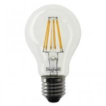 Lampada a Led Vintage 7W Attacco E27 Luce Calda 2700° 60x105mm Zafiro Beghelli 56402