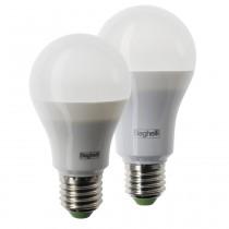 Lampada a Led 12W Attacco E27 Luce Calda 3000° 65x110mm Goccia Saving  Beghelli 56933