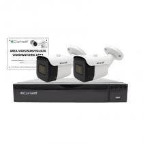 DVR in Kit con 9 Ingressi IP 5MP e Hard Disk 1 TB e Due Telecamere Comelit IPKIT004S02PA