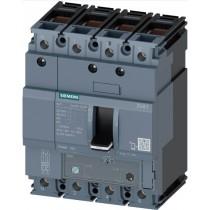 Interruttore automatico scatolato 4 poli 160A 25kA Siemens 3VA11123FF460AA0