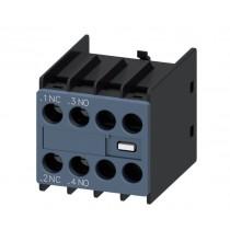 Contatto ausiliario montaggio frontale 1NA+1NC Siemens 3RH29111HA11