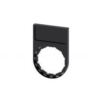 Porta targhetta 12,5X27MM  Siemens 3SU19000AG100AA0