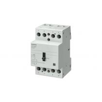 Contattore con Comando Manuale 4P 40A 230VCA Siemens 5TT58406