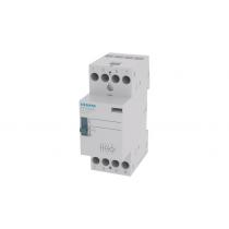 Contattore con Comando Manuale NO 4P 25A 230VCA Siemens 5TT58306v