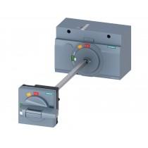 Comando rotativo bloccoporta frontale per scatolati Siemens 3VA23 3VA94670FK21