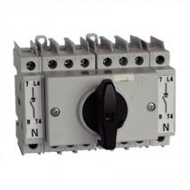 Commutatore modulare 1-0-2 3 Poli 32A Grandezza 1