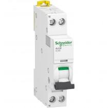 Magnetotermico 1 Polo+N 10A 4,5KA Curva C 1 Modulo Schneider A9P52610