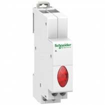 Lampada Spia 1 Modulo 230V 3 LED Rossa Schneider A9E18327